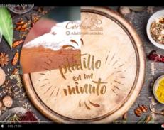 Corbuse Plato Panque Marmol
