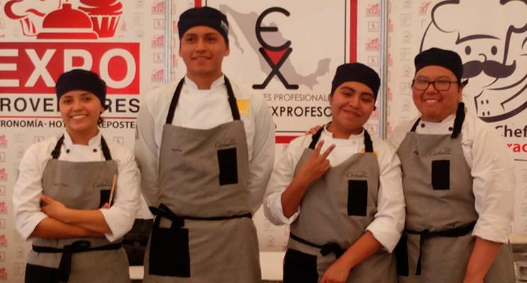 Alumnos de Corbusé participaron en Torneo Nacional Chef Nueva Generación 2019