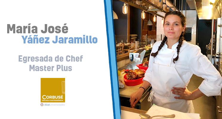 La Gastronomía es el lenguaje universal: María José, egresada de Chef Master Plus